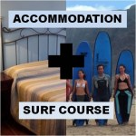 pack surf course plus accommodation lanzarote